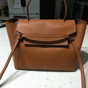 Celine Belt Bag size Medium Camel color